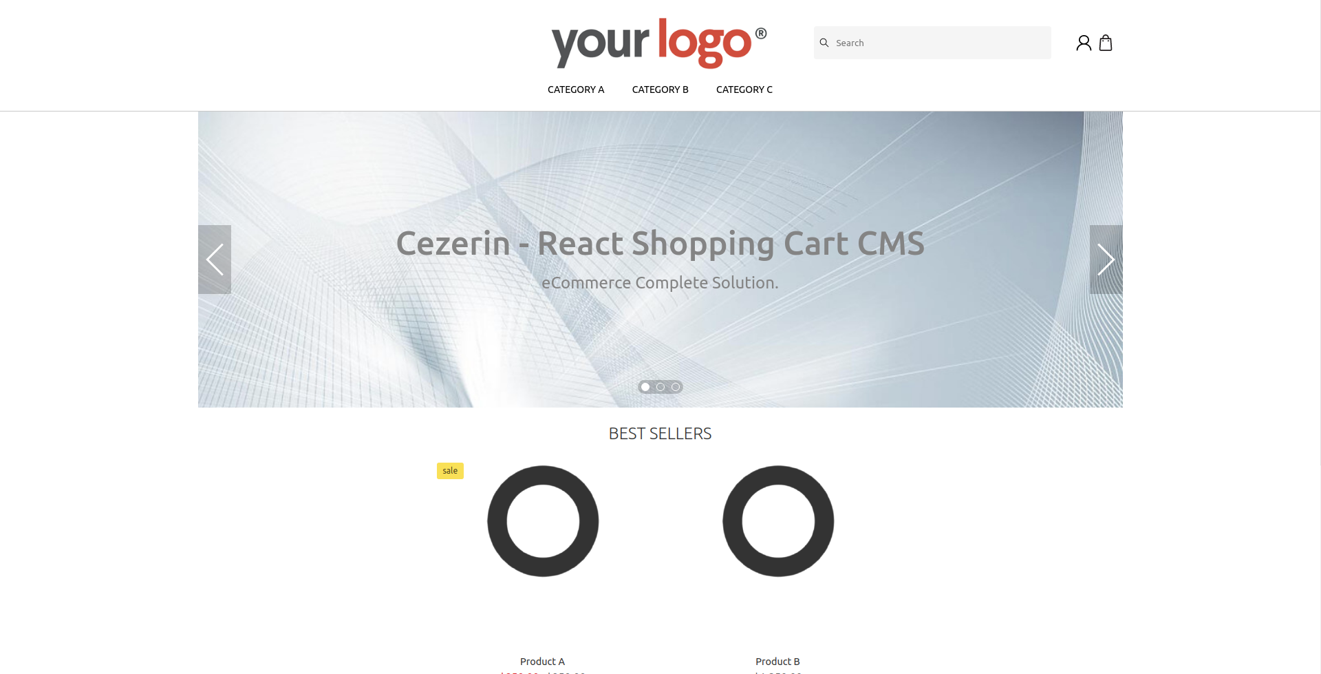 Cezerin Store Default Theme