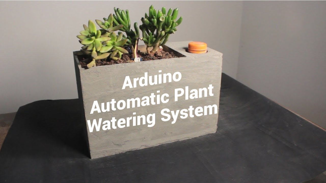 Sprout: Arduino Automatic Self Watering Planter
