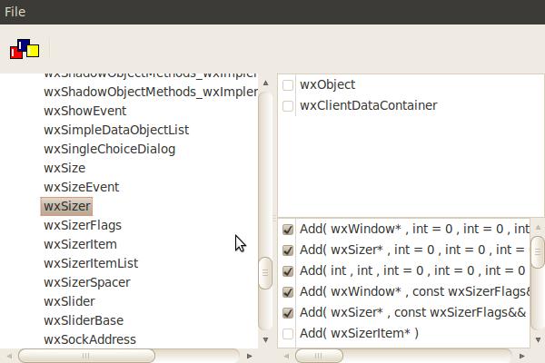 wxPHP GUI Binding Utility