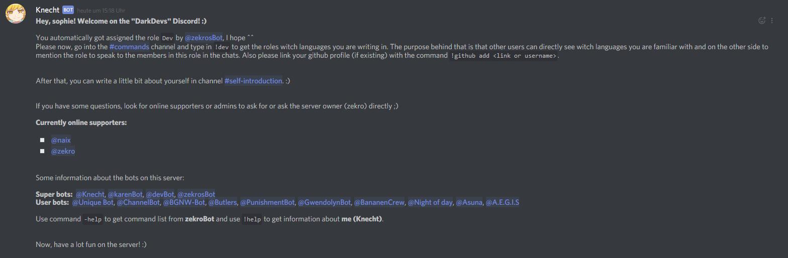 GitHub - zekroTJA/regiusBot: Little Python discord bot for