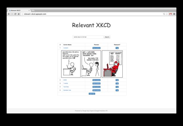 Relevant XKCD screenshot