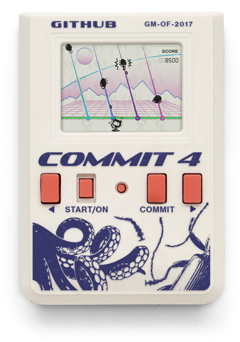 Screenshot of COMMIT4 game