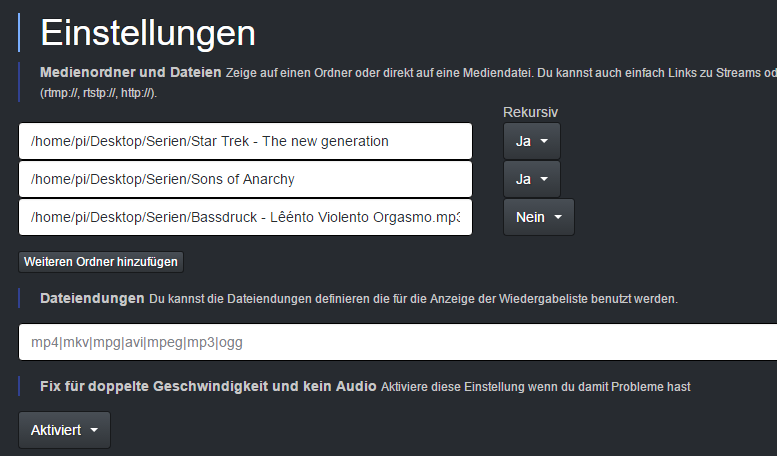 GitHub - brainfoolong/omxwebgui-v2: Web GUI for OMX Player