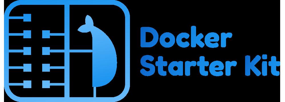 Docker starter kit logo