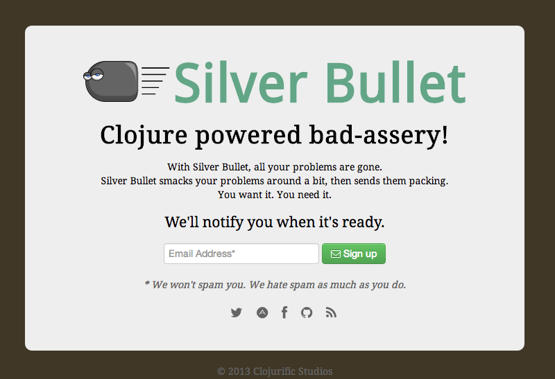 Silver Bullet Example