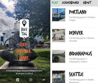 BikeTag Homepage