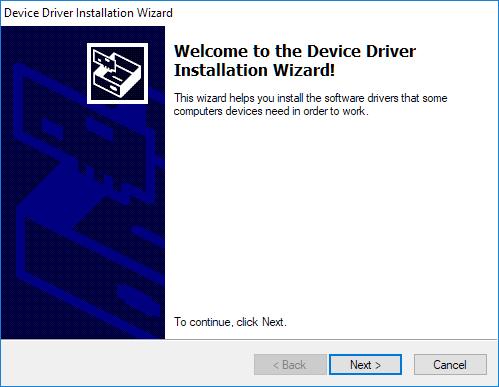 Install programmer step 6.1
