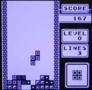 Tetris running on FPGABoy