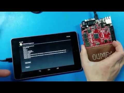 android-stm32-dfu-programmer video