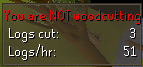 Woodcutting plugin inactive