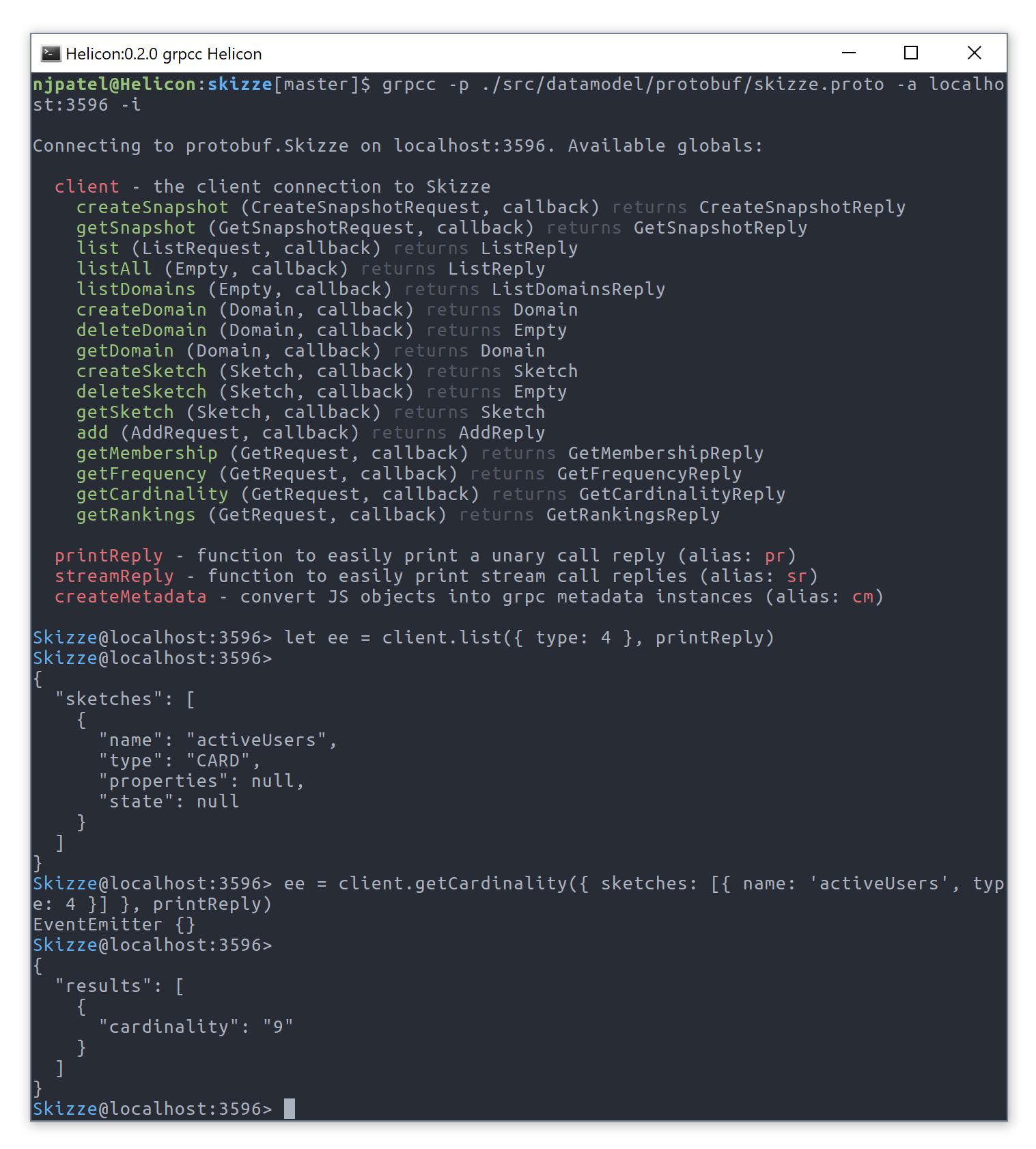 GitHub - njpatel/grpcc: A gRPC cli interface for easy testing
