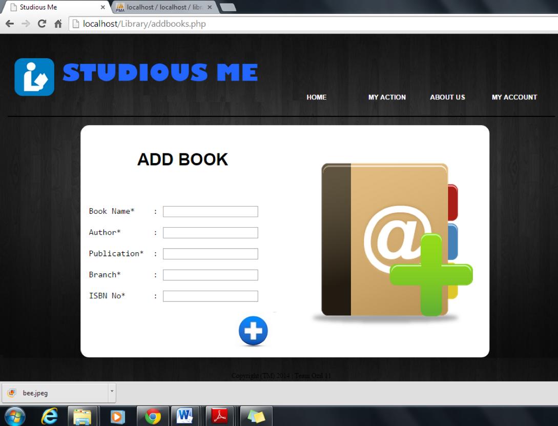 Github Akshaytambe Studiousme An Online Library Management System