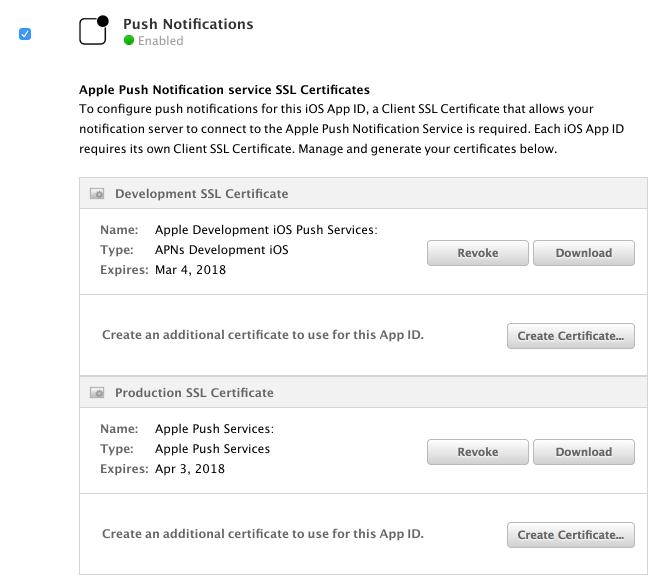 Generating Certificates Rpushrpush Wiki Github