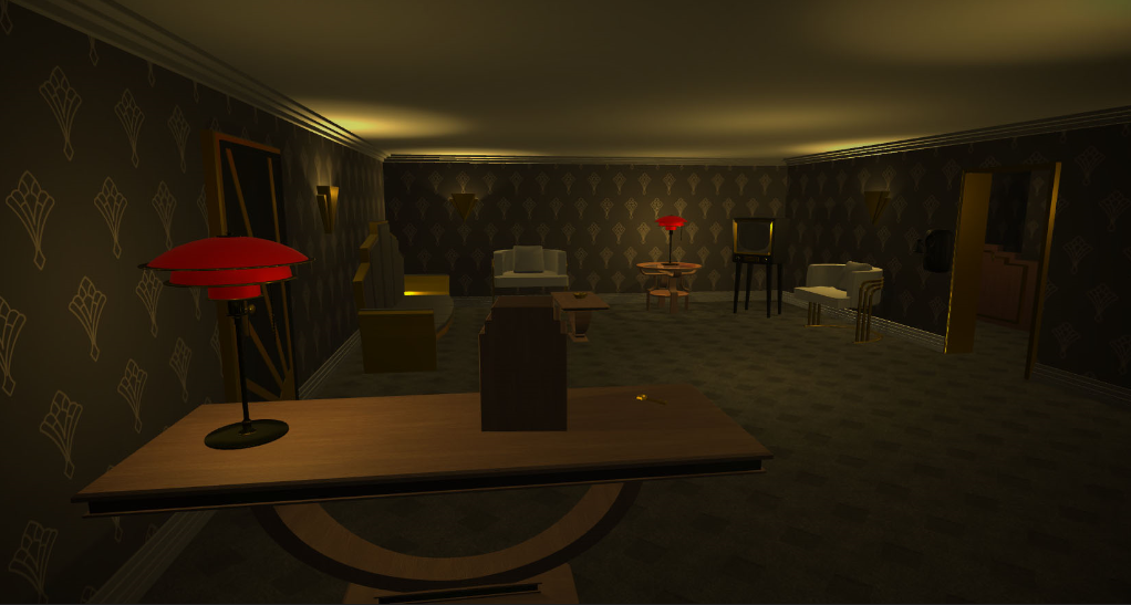 really sweet looking room