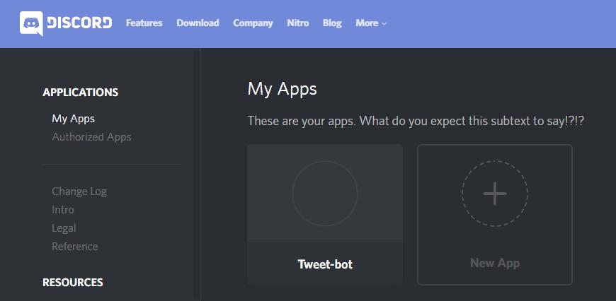 My Appsページ