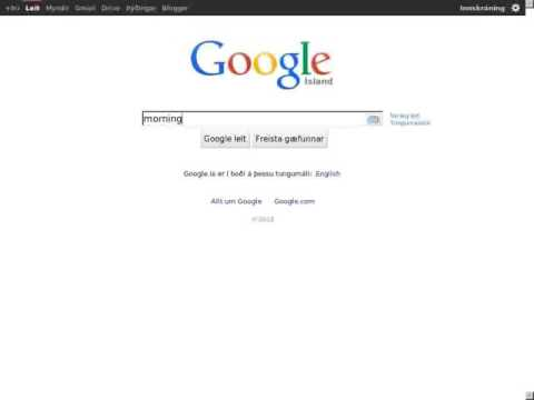 Morning Google from 2014-05-20