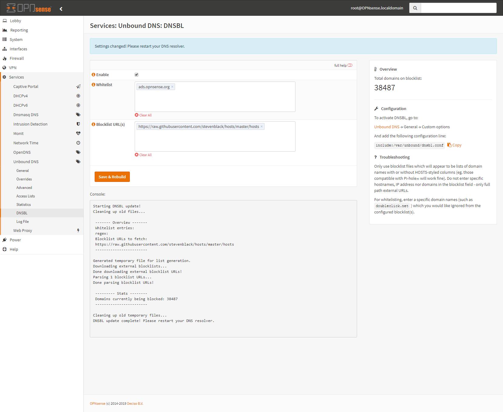 Introducing UnboundBL, a Unbound DNS-based adblocker for
