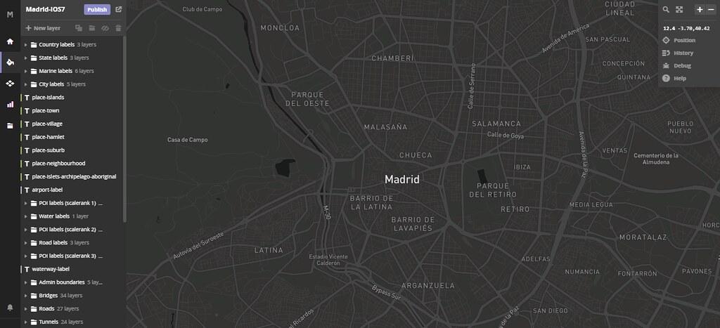 Cambio de estilo en MapBox