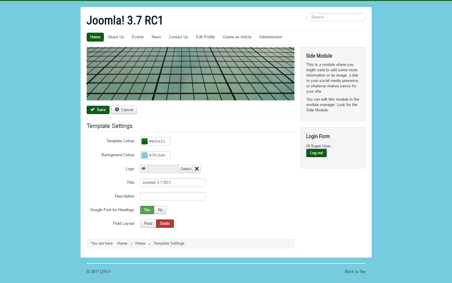 Joomla Issue Tracker Joomla Cms 15183 Front End Admin