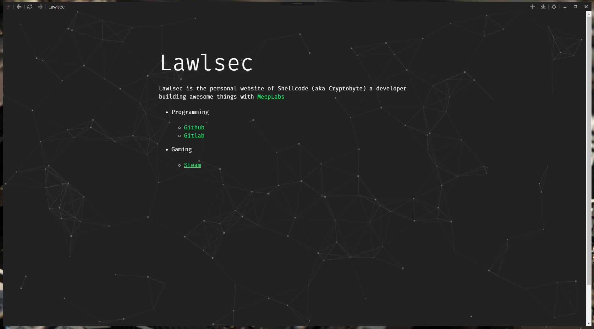 Opeity-Cef Screenshot