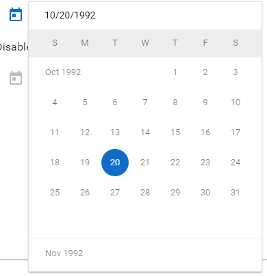 datepicker: Past dates are not correct · Issue #4215 · angular