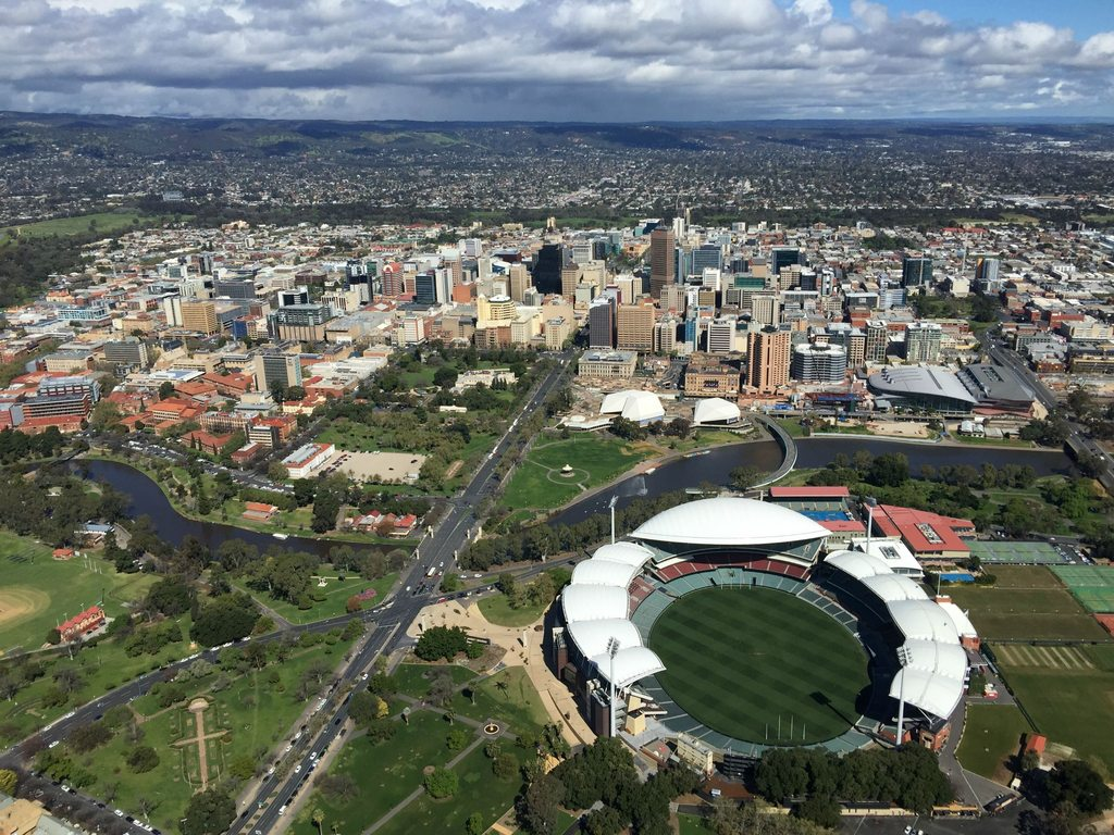 Adelaide from the air
