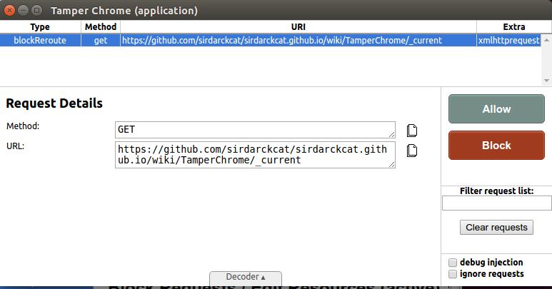 GitHub - google/tamperchrome: Tamper Chrome is a Chrome