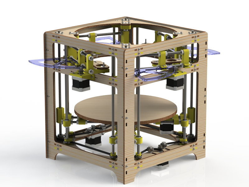 A magnificent rendering of the Theta Printer