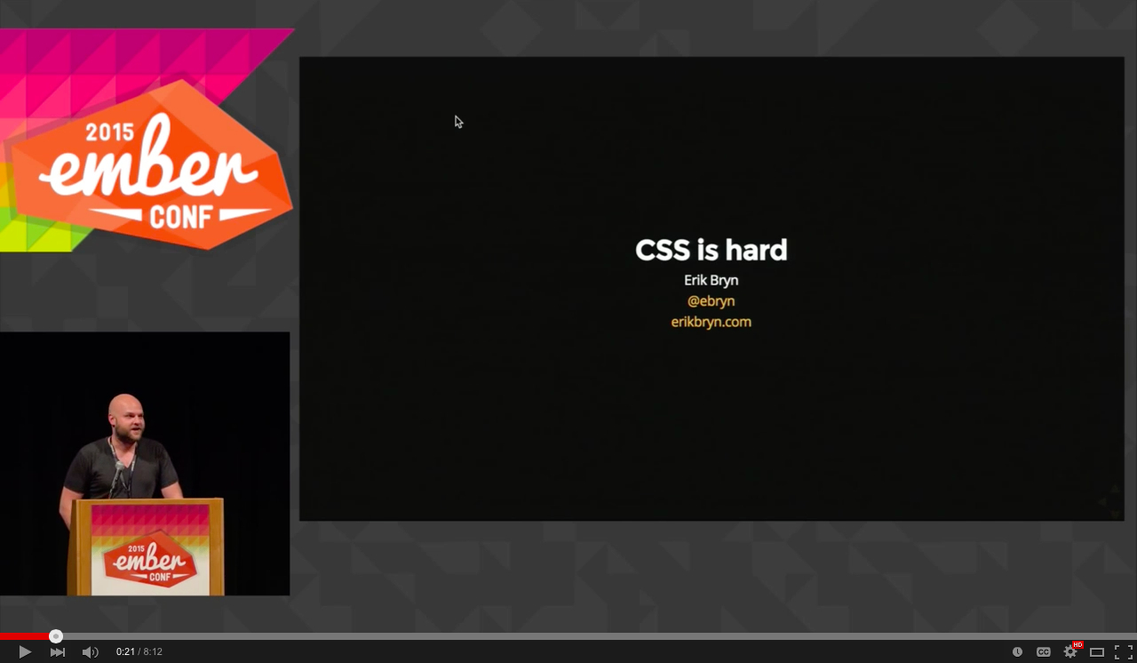 CSS is hard - EmberConf 2015