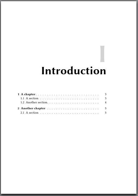 thesis documentclass