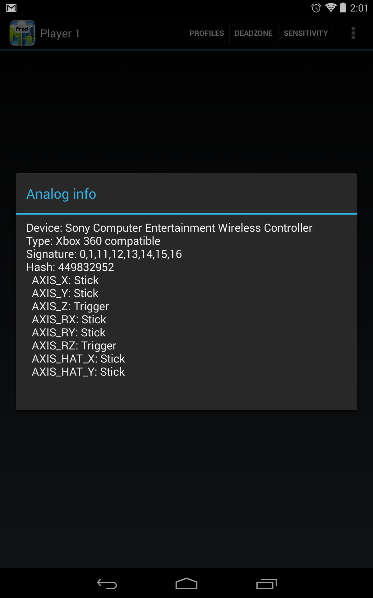 Recognizes DualShock 4 properly in Diagnostics, but does not
