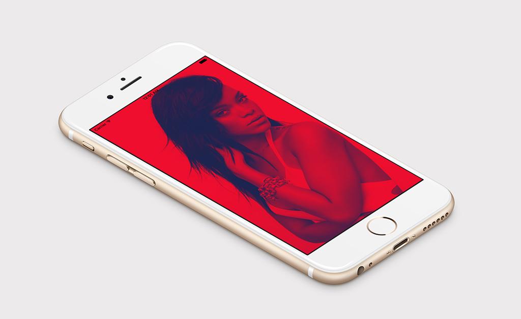 Duotone on iPhone