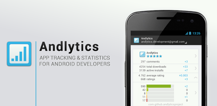 GitHub - AndlyticsProject/andlytics: Google Play - Android Market