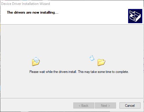 Install programmer step 6.3