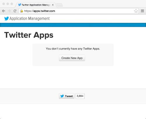 apps.twitter.com