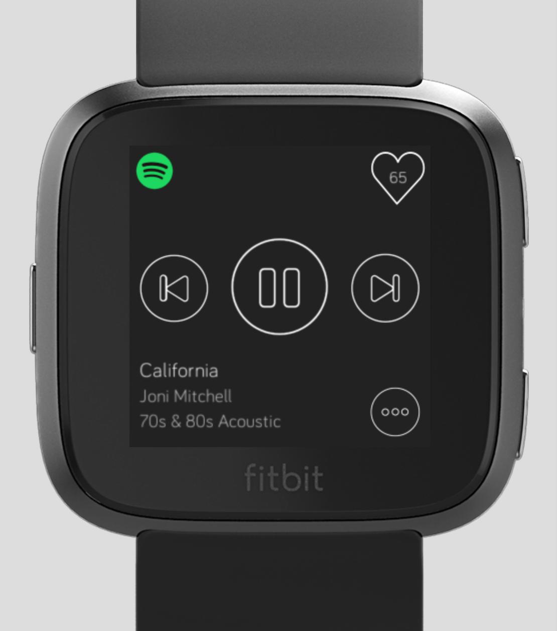 GitHub - TimeToogo/spotify-hr: Spotify HR app for the FitBit Versa