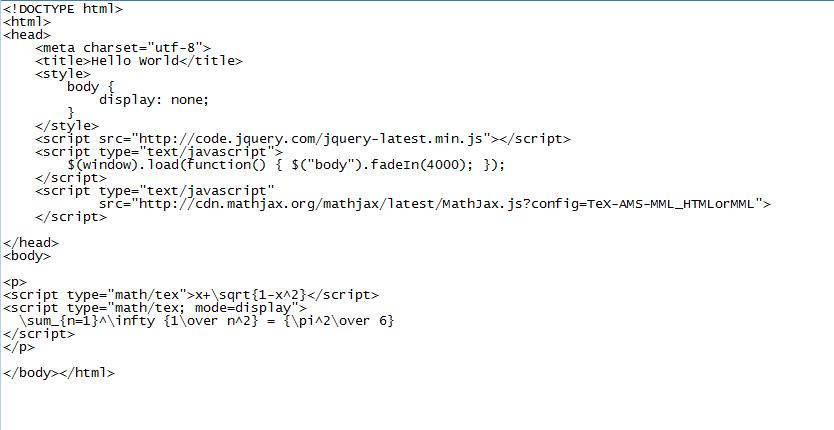 MathJax + jQuery fadeIn sometimes gives skew formulas