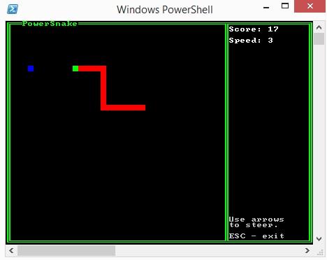 PowerSnake window