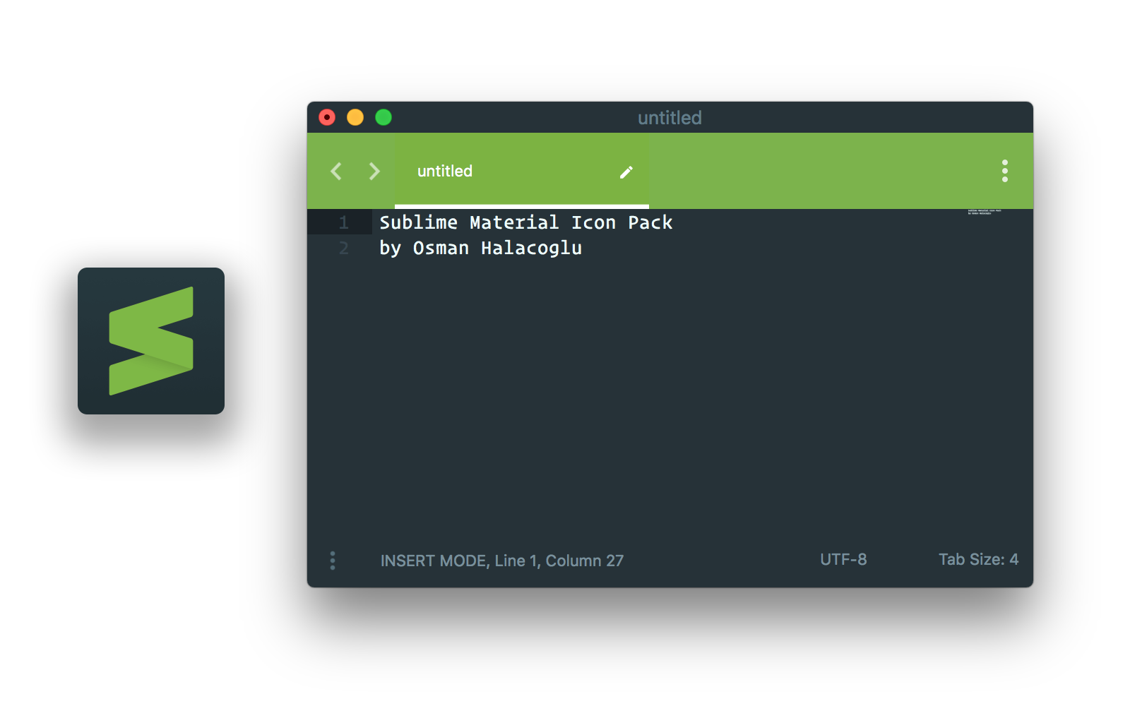 Material theme with Lime accent color