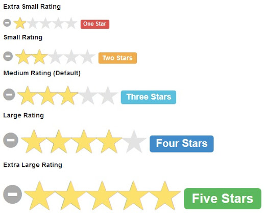 Star Rating Screenshot