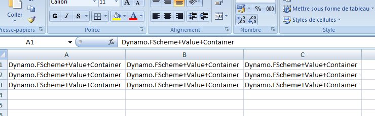 Export to Excel/CSV issue: Units involved? · Issue #1183 · DynamoDS