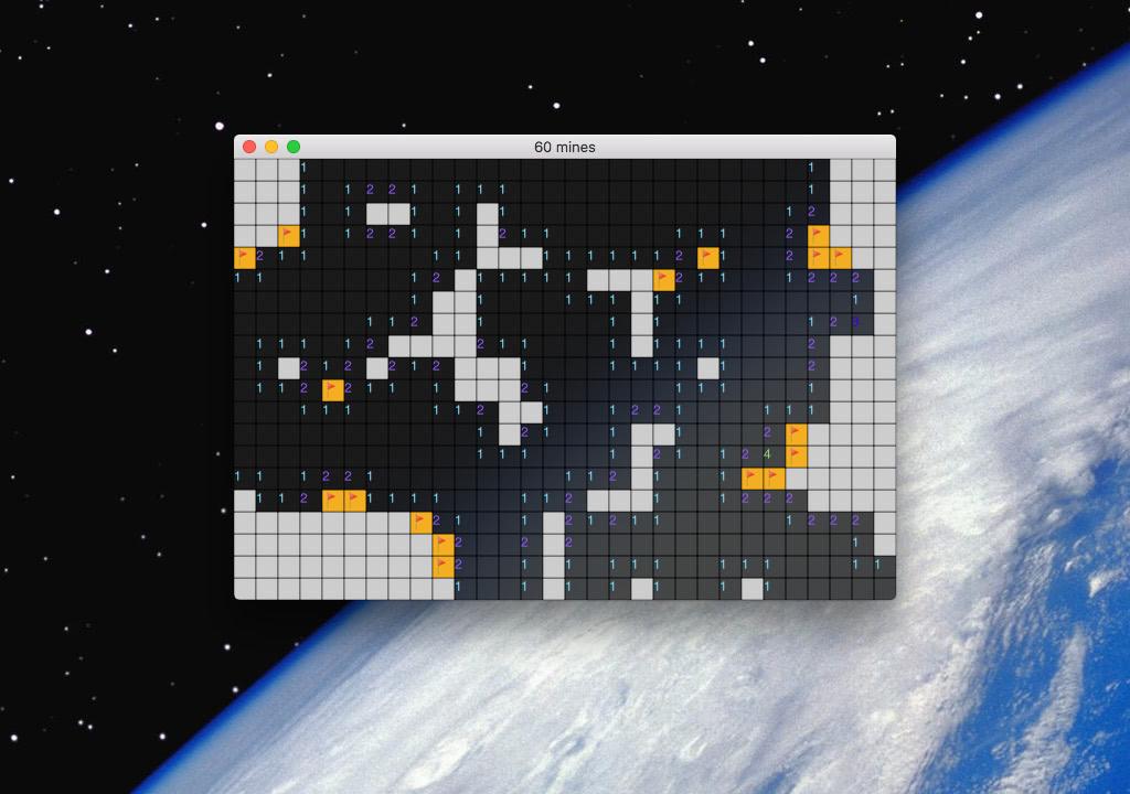 minisweeper screenshot