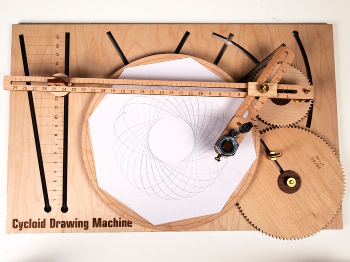 Cycloid Drawing Machine