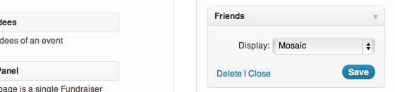 Friends - Widget