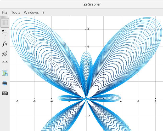 ZeGrapher example