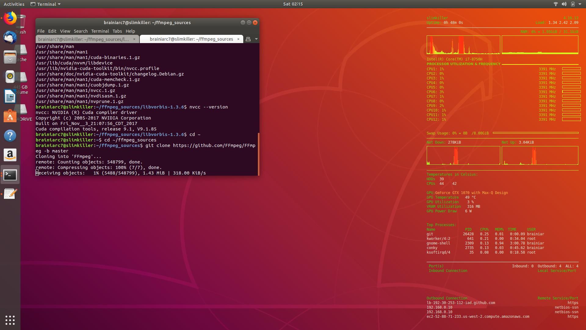 Installing Ubuntu 18 04LTS on the Eurocom Q6, among other tweaks