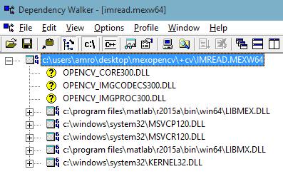 MATLAB MEX File Error · Issue #192 · kyamagu/mexopencv · GitHub