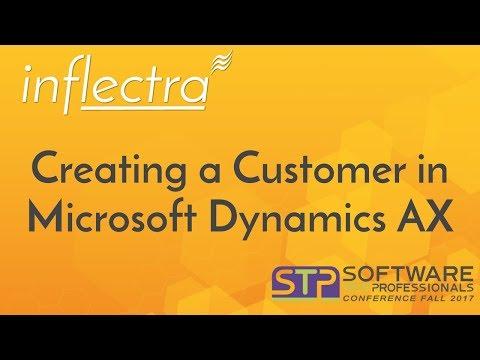 Creating New Customer in Dynamics AX