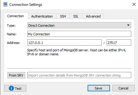 Unable to connect Robo 3T to a remote MongoDB server · Issue #1437