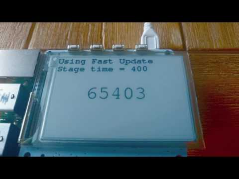 Fast Update Demo